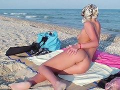 Hottest amateur girlfriend procurement real fuck chiefly the beach