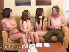 Lily Elise Amber and Sean play Strip High Card
