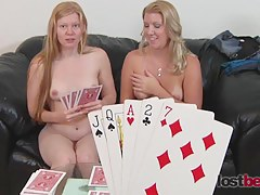Strip Poker respecting Julie and Ashley vs. YOU!