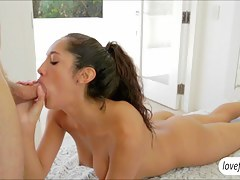 Exotic babe Chloe Amour hot sensual fuck