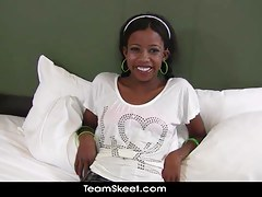 Ebony Schoolgirl