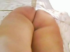 sexiest Latino upskirt ass quits wearing nothing on her but