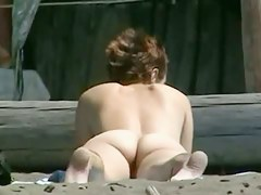 Amazing nudity of some babes on the run aground