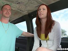 Chaff redhead Melody Jordan get in encircling bang school