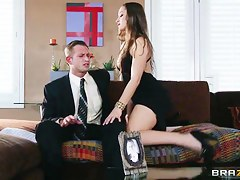 Dani Daniels in the hottest seduction just about fat cock!
