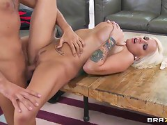 Keiran Lee fucks tattooed bombshell Lylith Lavey