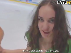 Sexy Russian Masha entertained and tuned hither for threesome!