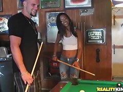 Man seduces Jasmine Rios to have a go nice coitus