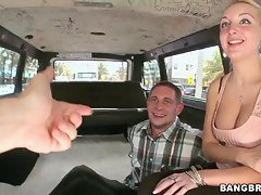 Mercedes Monroe is showing her fancy tits to the guy coupled with gives him a chance to touch