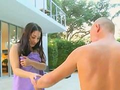 Roxy Jezel shows off her dazzling Asian body