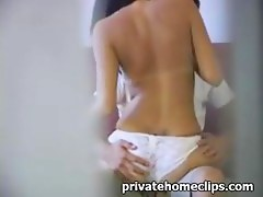 Voyeur video with couple having coitus