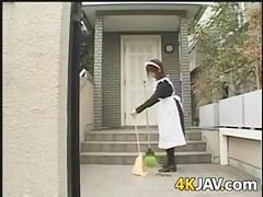 Fucking The Asian Maid