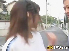 Japanese Girl Getting Fingered