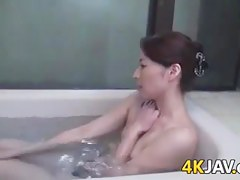 Japanese Lesbians In The Bathroom