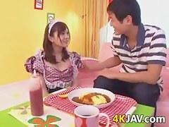 Japanese Girl Strapping A Handjob